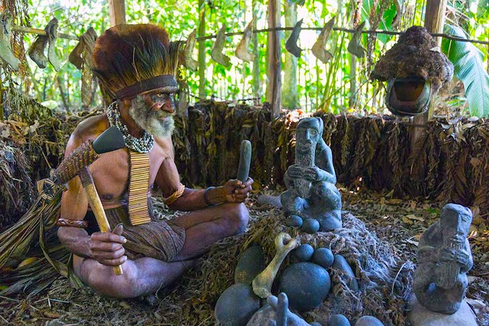 Witch Doctor Papua