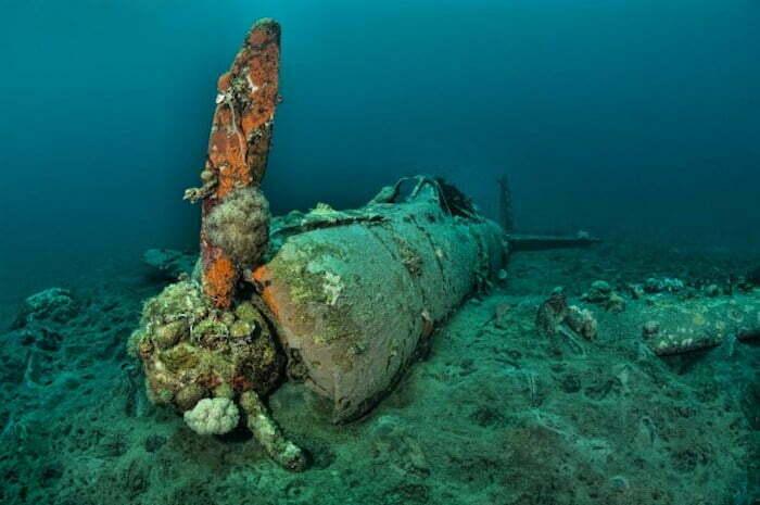Zero wreck Papua New Guinea